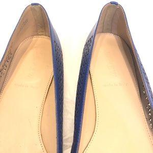J. Crew Shoes - J.Crew Lazer Cut Flats Size 8